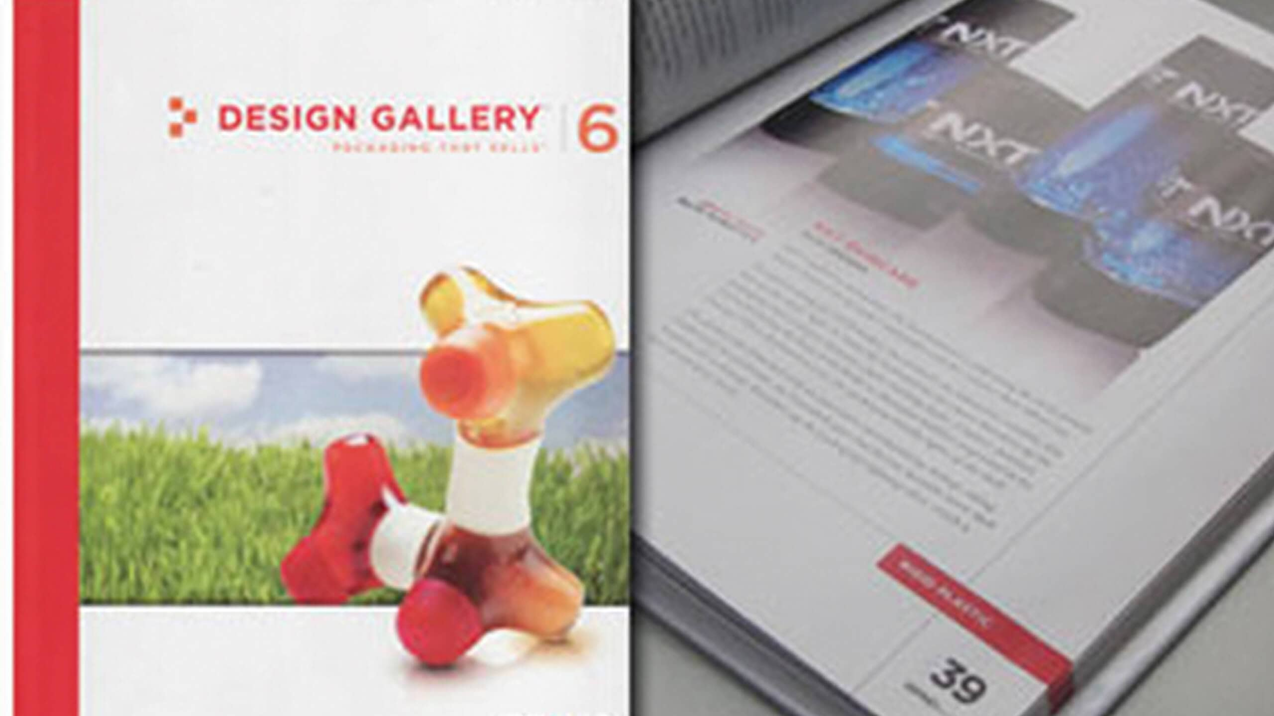 NXT FEATURED IN BRAND PACKAGING'S DESIGN GALLERY