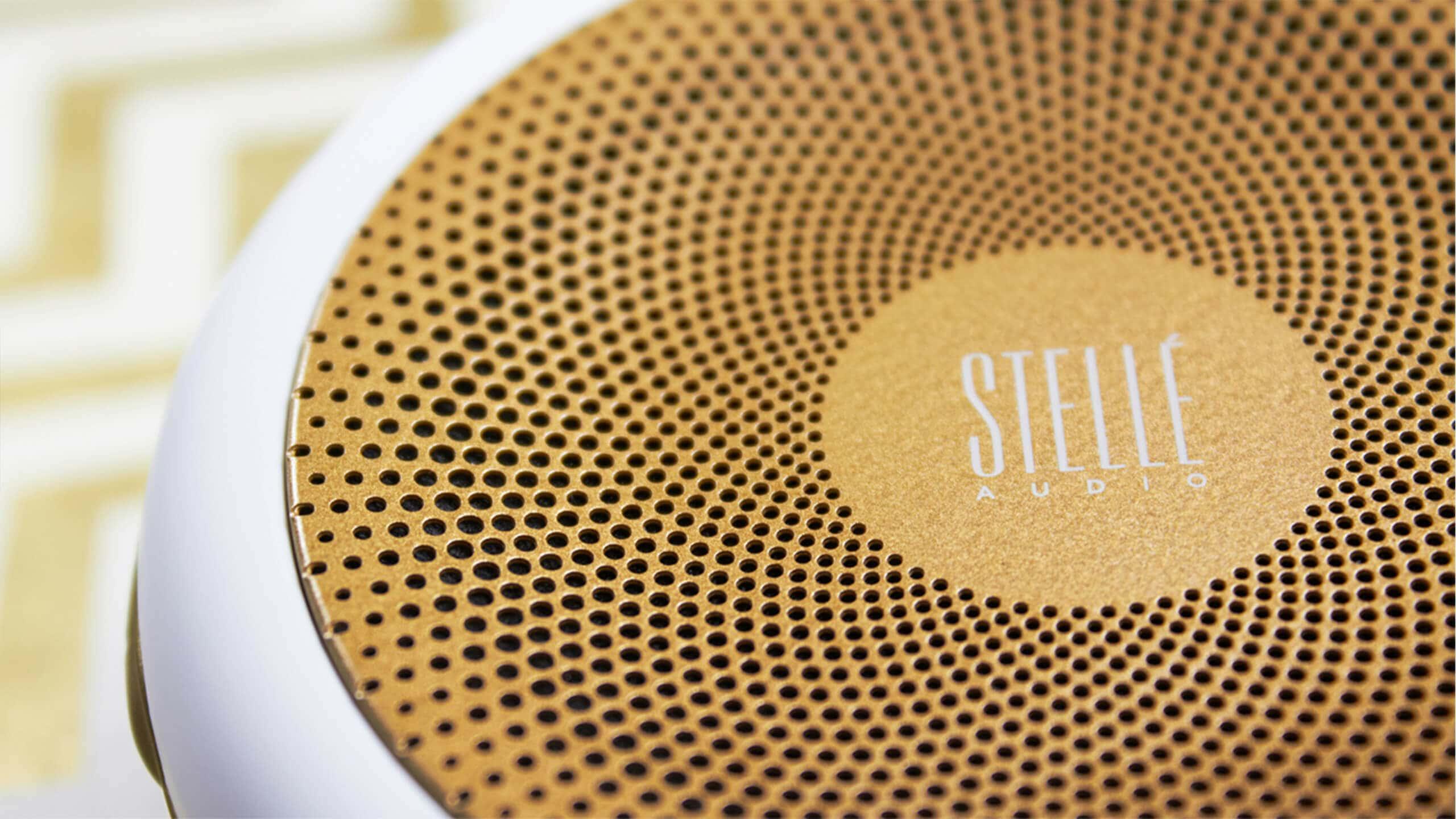 Sprout studios, Boston, industrial design, product design, start up, 3D print, rendering, CAD, Branding, graphic design, environmental design, brand, packaging design, stelle go-go, stelle audio, portable speaker, logo design