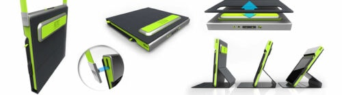 Sprout studios, Boston, industrial design, product design, start up, altec, speaker case, CAD rendering