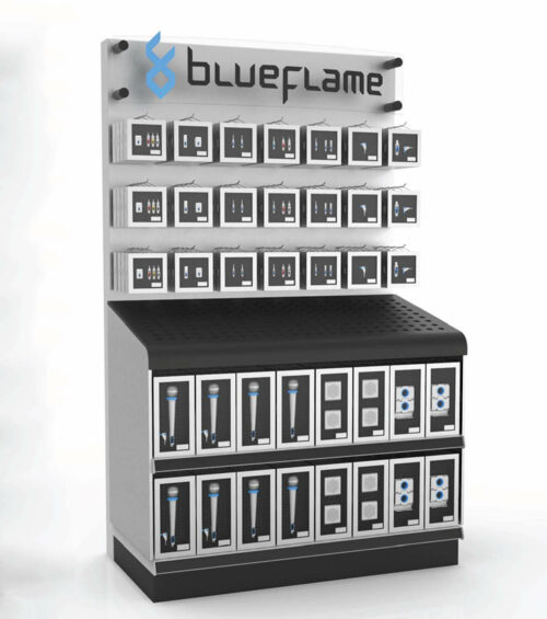 Sprout studios, Boston, industrial design, product design, start up, Blueflame, 3d printing, rendering, cad, speaker, pop display
