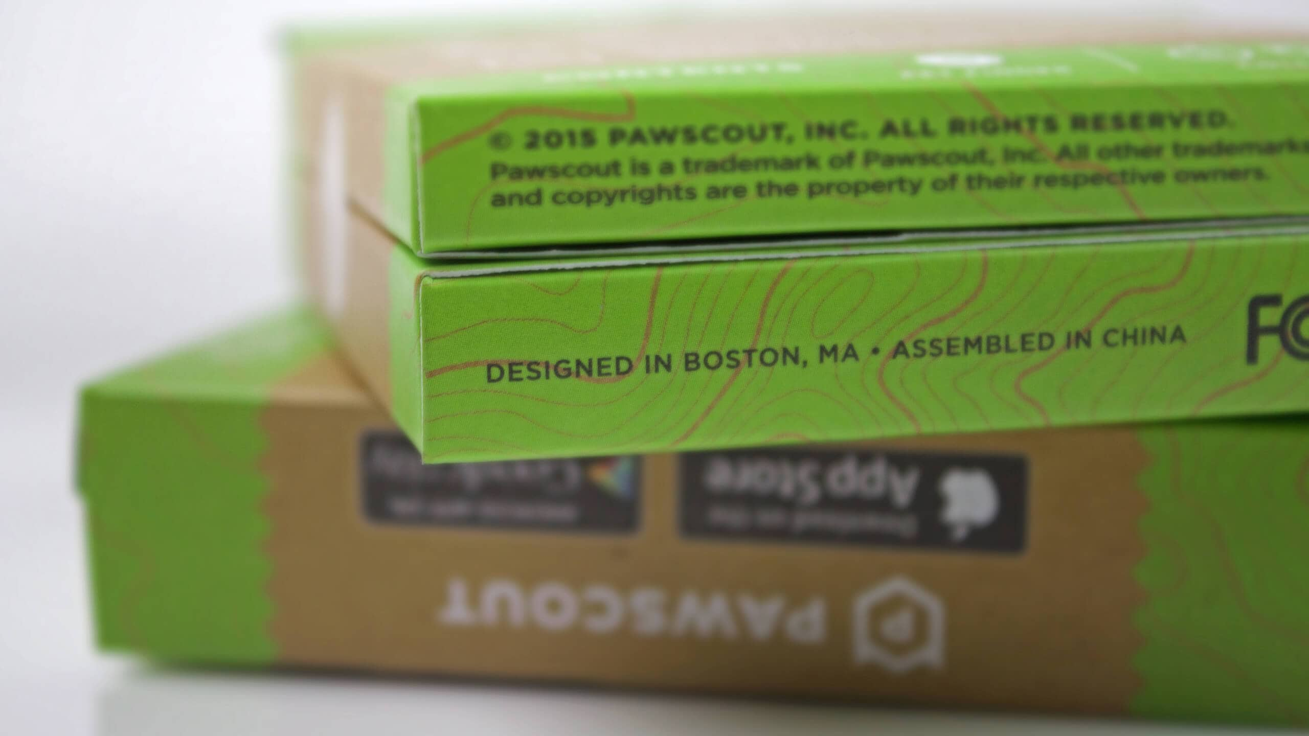 Sprout studios, Boston, industrial design, product design, start up, Pawscout, digital pet tag, pet tracker, branding, logo design, packaging design, app design, Ux/ui design, website design, 3D printing