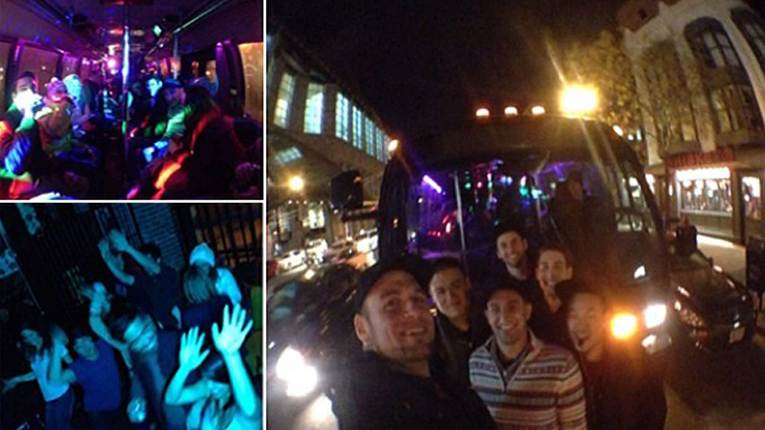 HOLIDAY PARTY BUS