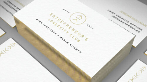 Sprout studios, Boston, industrial design, product design, start up, Branding, graphic design, ELC, entrepeneur's longevity club, logo design, business cards