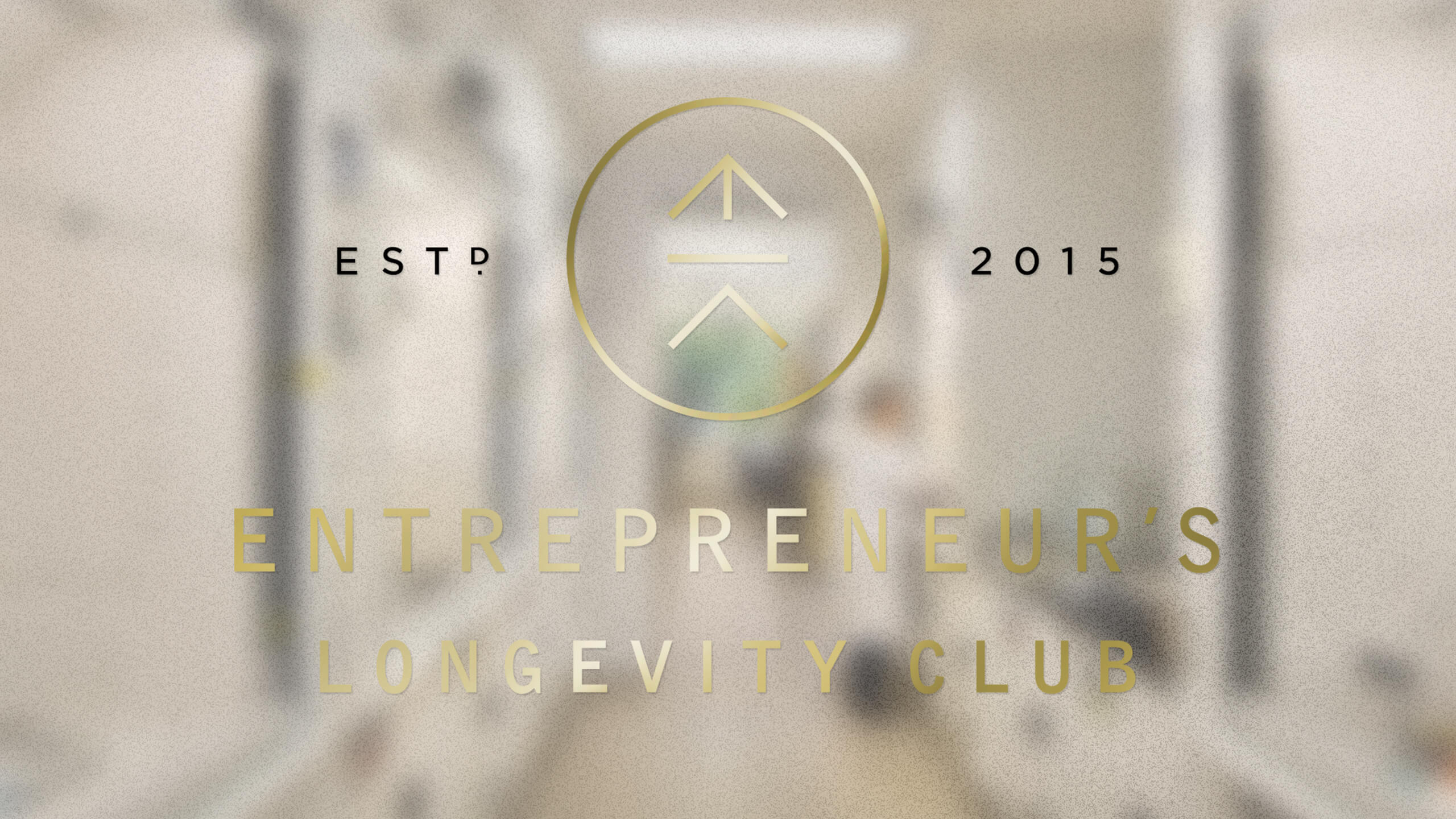 NEW WORK // BRANDING PROJECT //  THE ENTREPRENEUR'S LONGEVITY CLUB