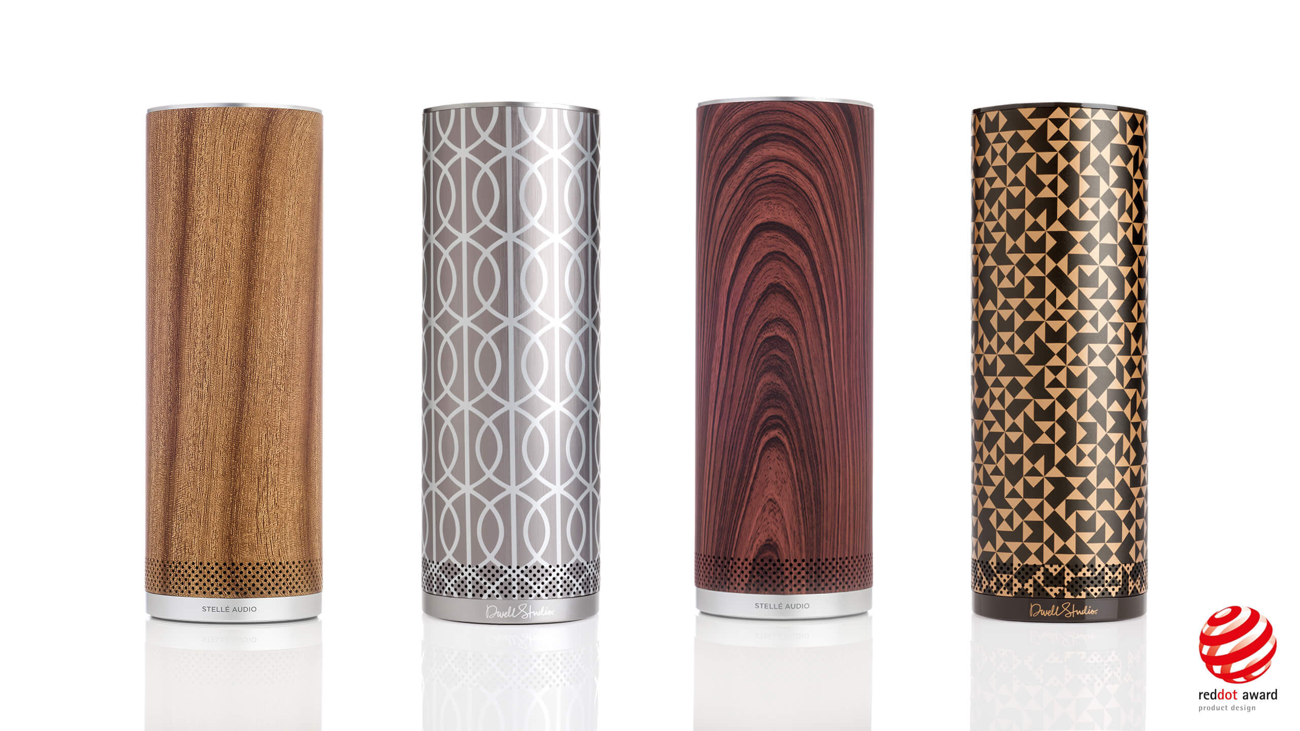 Stellé  Audio Pillar wins Red Dot design award!