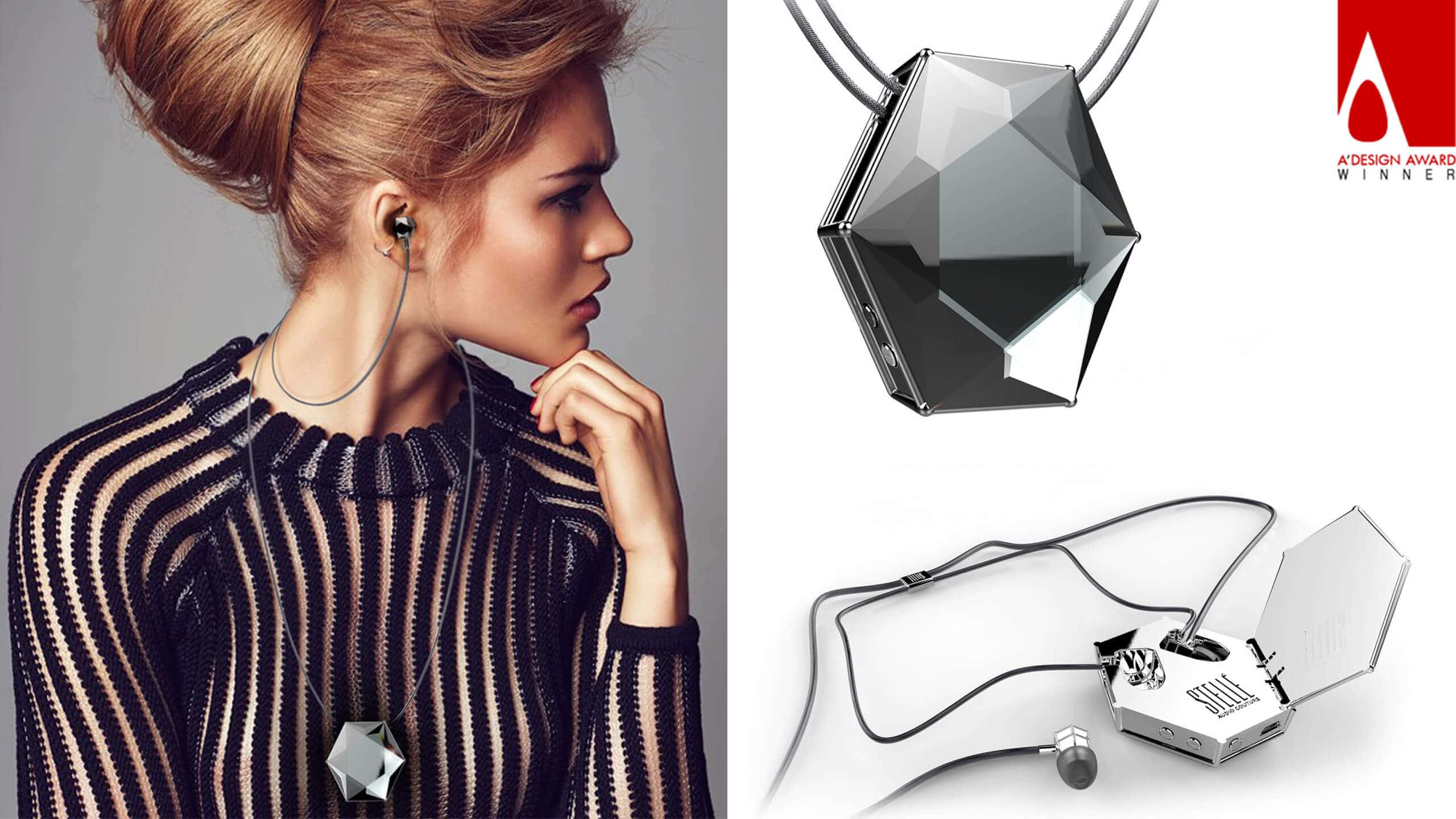 SPROUT Wins A'Design Award for Stellé Audio Wireless Earbud Locket™
