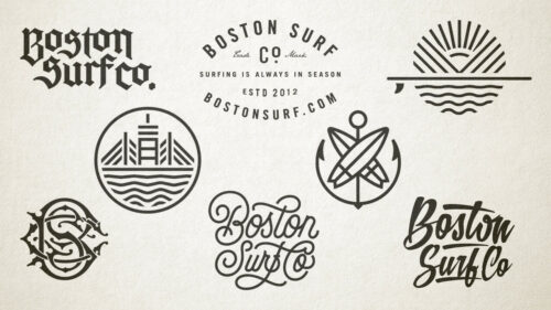 Sprout studios, Boston, Boston Surf Co, Chino surfboards, surfing, branding, brand, logo design, graphic design, website design, digital design, apparel