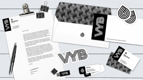 Sprout studios, Boston, branding, brand, logo design, packaging design, graphic design, rendering, start up, VYB, cannabis