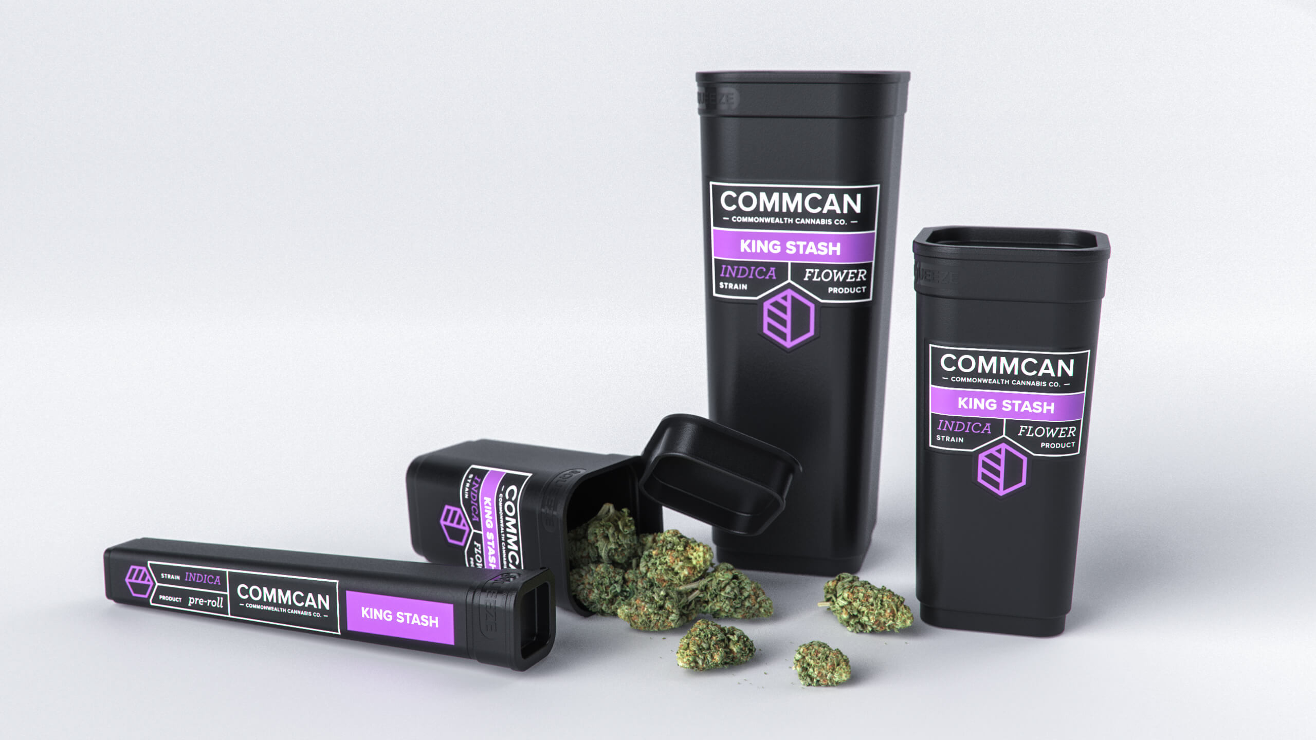 Sprout studios, Boston, industrial design, product design, rendering, CAD, Commcan, cannabis, weed, marijuana, brand, dispensary, vape, oil, concentrate, edible