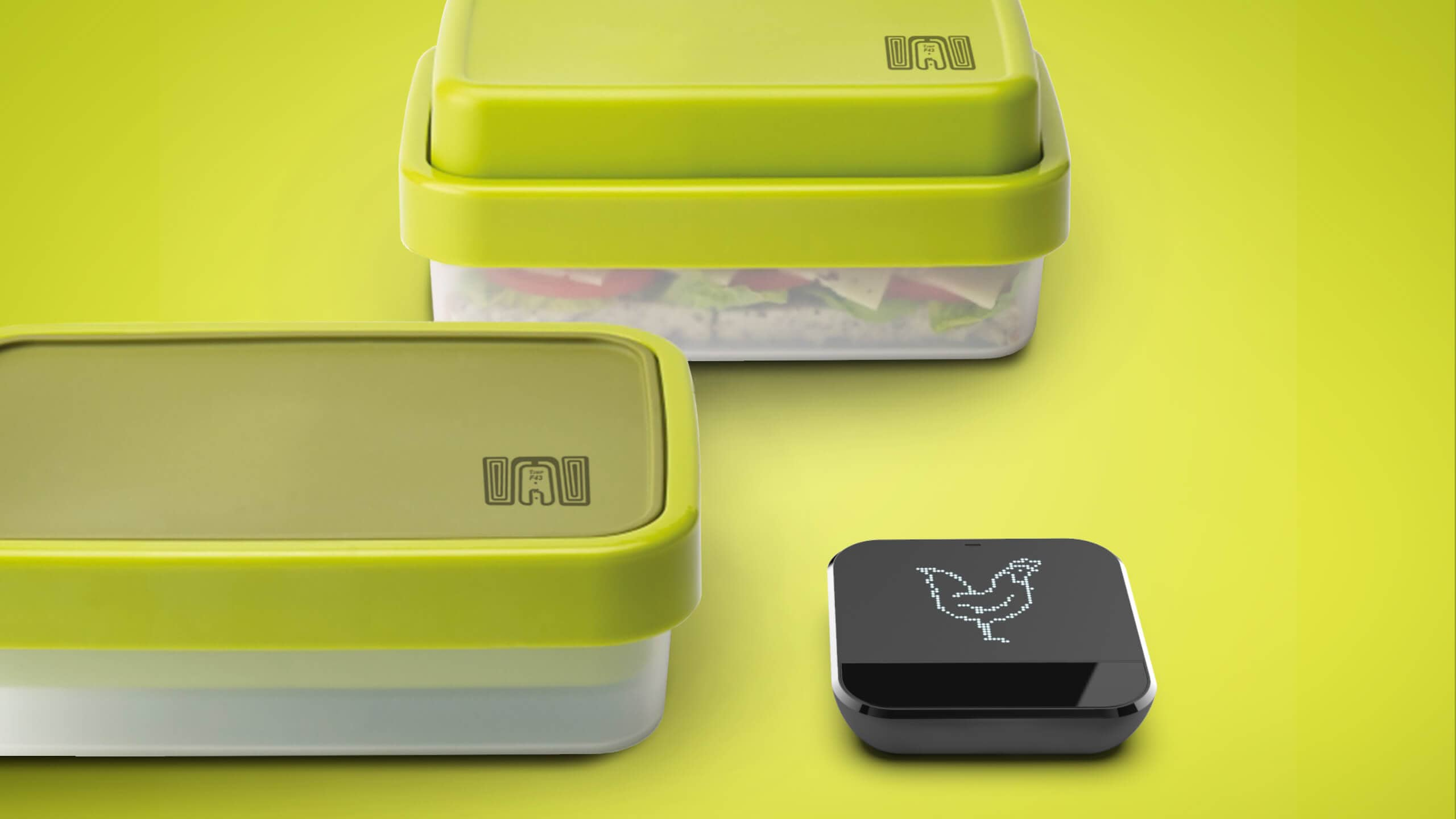 Sprout studios, Boston, industrial design, product design, rendering, CAD, Smartware, Tupperware, food, container, food prep, fridge, storage, IOS, app, IOT