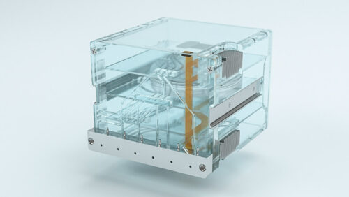 Sprout Boston industrial design Product Rendering DRAPER biomed biotech medical cancer disease microfluidic