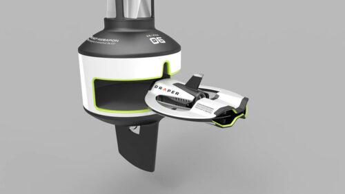 Sprout studios Boston industrial product design rendering Keyshot DRAPER Ocean Sea EPA pollution microplastic environment