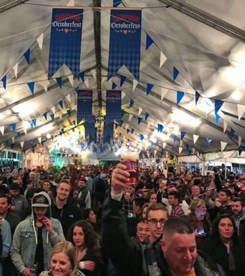 Octoberfest at Harpoon brewery