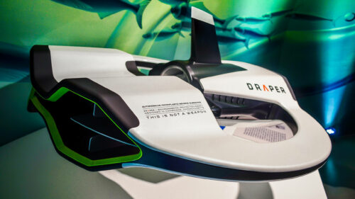 Draper: Microplastic-sensing Drone