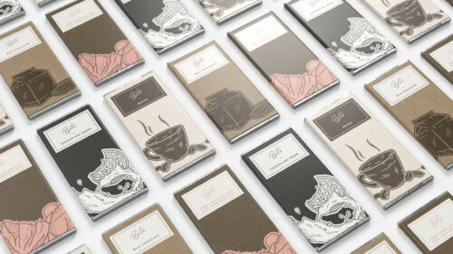 Commcan Chocolate Bars Packaging