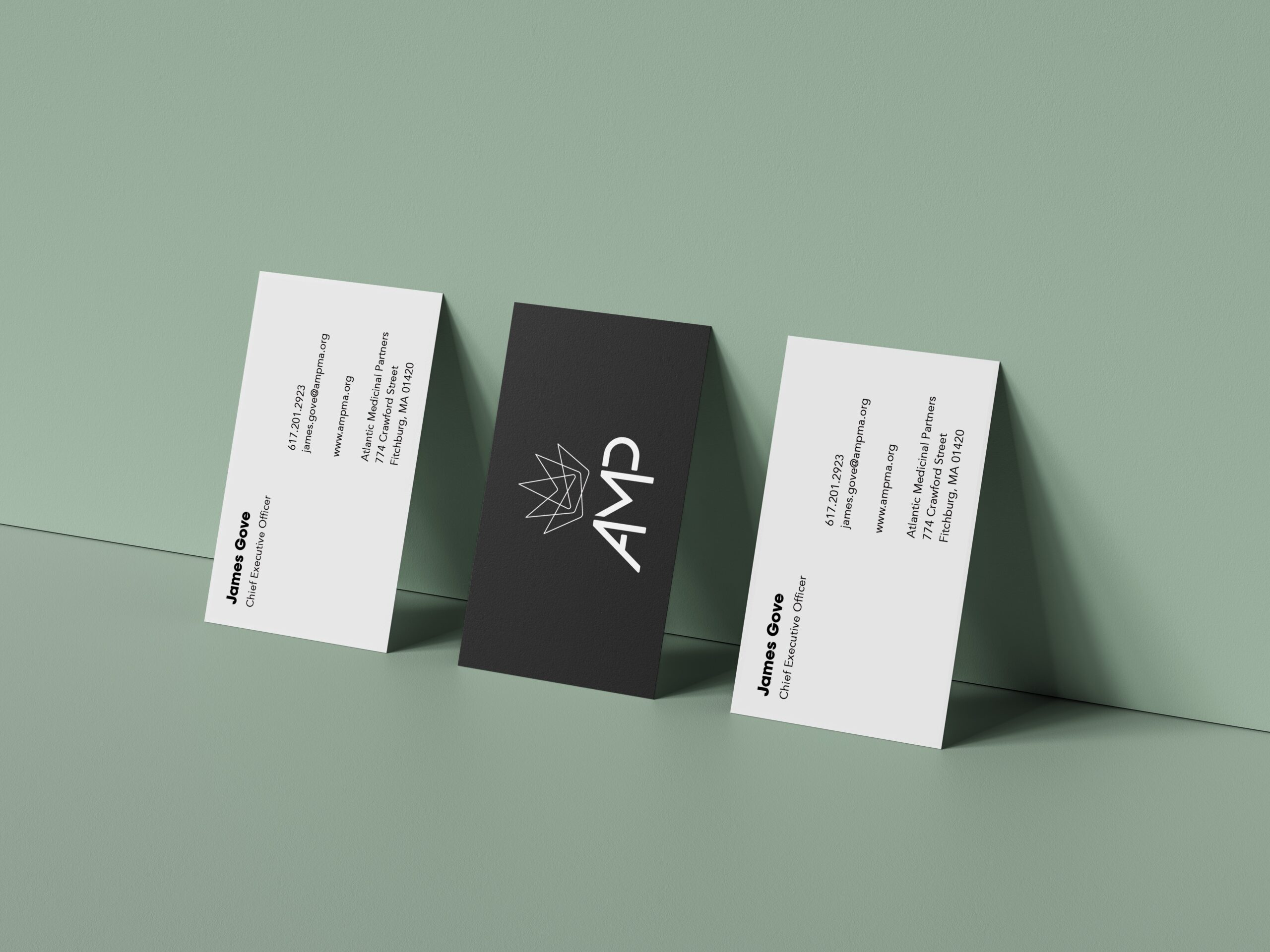 AMP Business Card