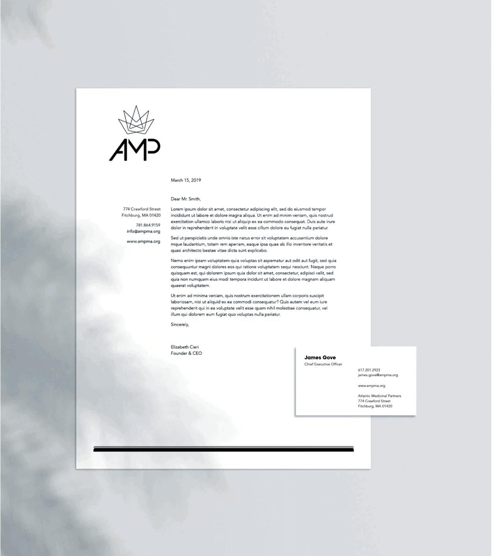 AMP Letterhead