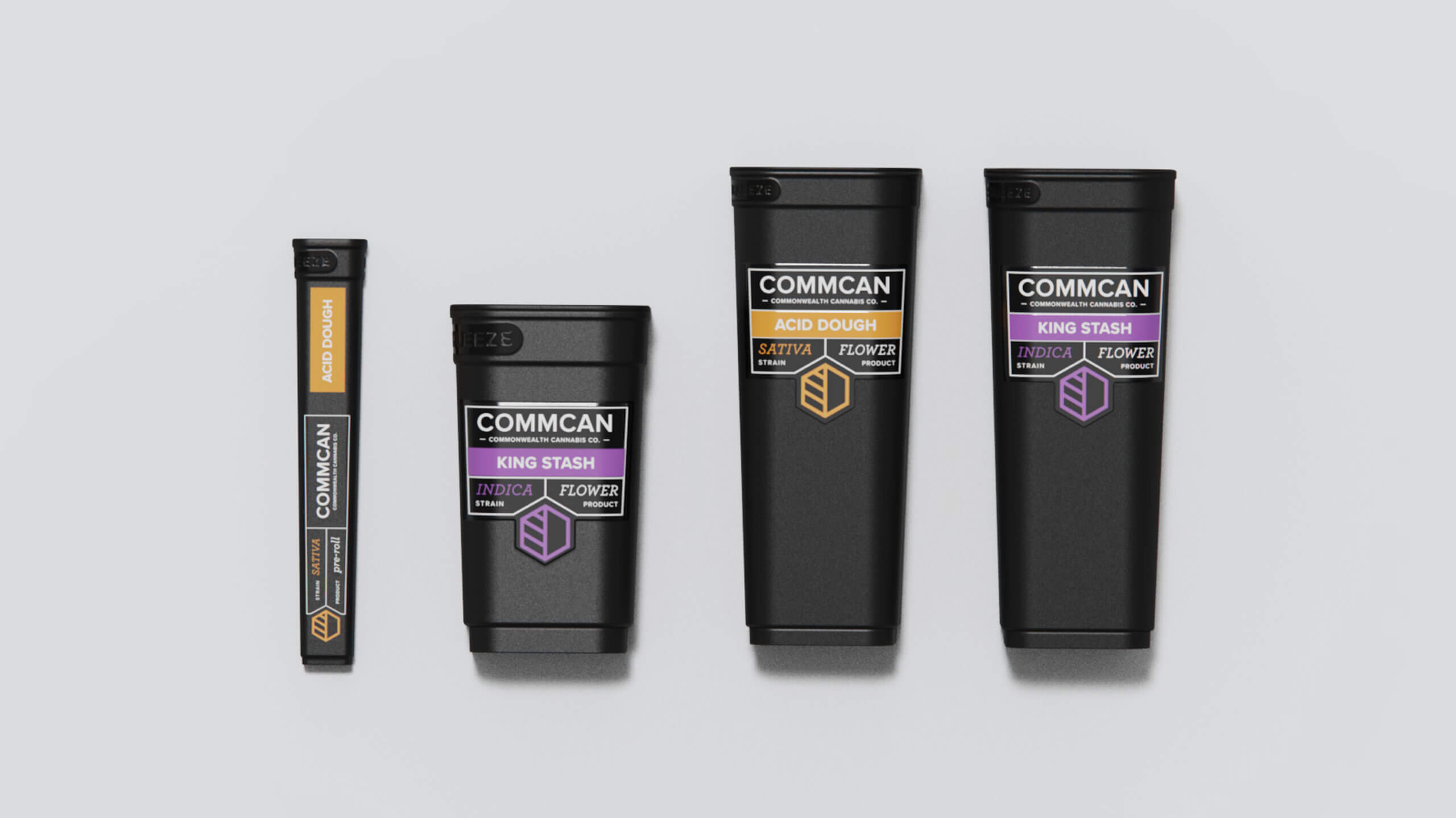 commcan commonwealth cannabis company cannabis packaging