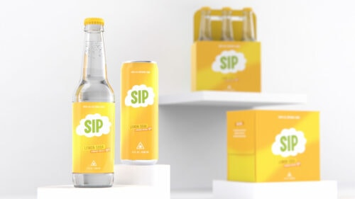 commcan commonwealth cannabis company cannabis sip cannabis infused drink cans and bottles
